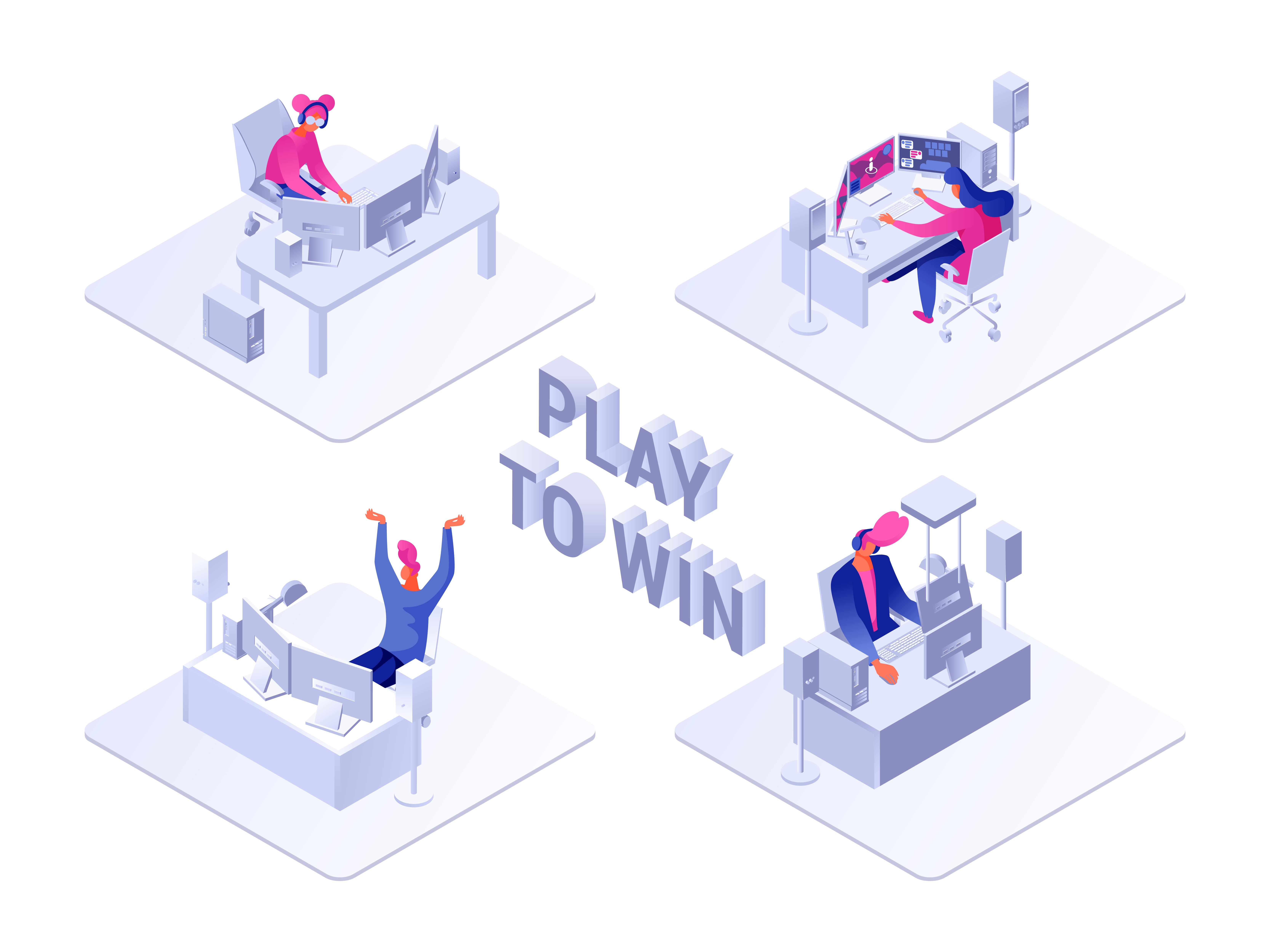 Play to win gamer contest
